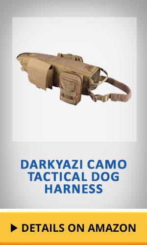 Darkyazi Camo Tactical Dog Harness featured