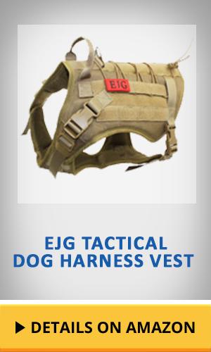 EJG Tactical dog harness vest featured