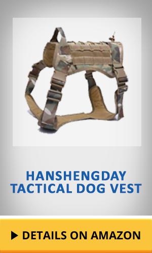 Hanshengday Tactical Dog Vest featured