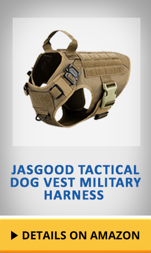 JASGOOD Tactical Dog Vest Military Harness featured