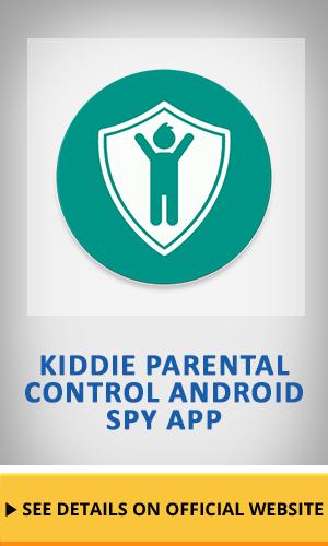 Kiddie Parental Control Android Spy app