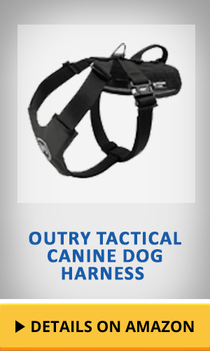 Outry Tactical Canine Dog Harness featured