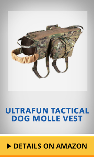 Ultrafun Tactical Dog Molle Vest featured